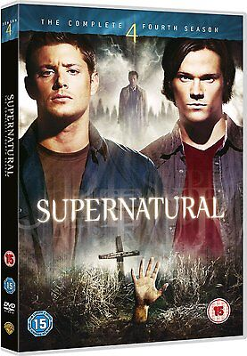 SUPERNATURAL COMPLETE SERIES 4 DVD Season New Sealed UK Original 4th Fourth