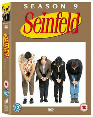 SEINFELD COMPLETE SERIES 9 DVD Ninth 9th Season Nine Original UK Release NEW R2
