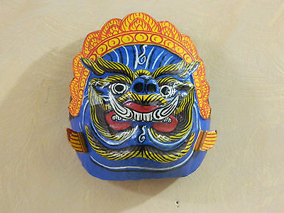 Wall Decor Balanise Multi Colour Plaster Mask