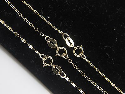 """Solid 10k yellow gold Anklet 3 DESIGN to Choose Rope anklets in 8.5"""", 9,5"""",10.5"""""""