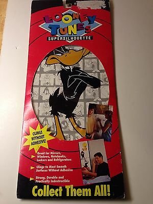 Daffy Duck Looney Tunes Cartoons Wall Child Room Decor Supersilhouette 1993