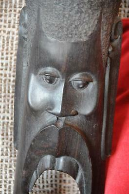 Old African Hardwood Carving from Tanzania…  unusual collector's piece...