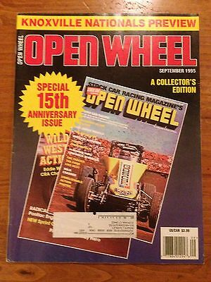 Open Wheel Magazine September 1995 15th Anniversary Issue Knoxville Nationals