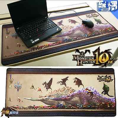 """Monster Hunter  Dragon - head of rex Mouse Mat Pad Big Size Cos Gift 16*35.4"""""""