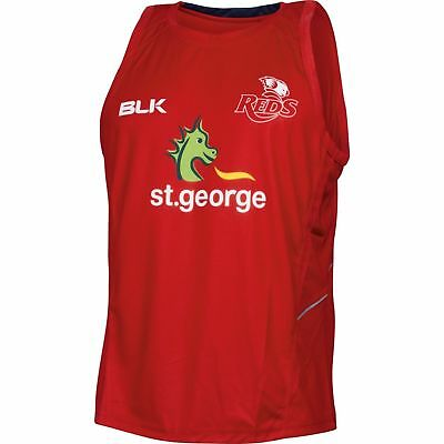 Queensland Reds Training Singlet 'Select Size' S-7XL BNWT5