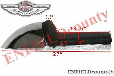 ALUMINIUM ALLOY COMPLETE SEAT BENELLI MOJAVE CAFE RACER 260 MOTORCYCLE @ECspares