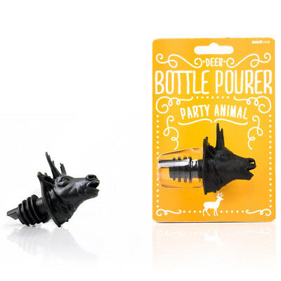 NEW Suck UK Party Animal Stag Bottle Pourer