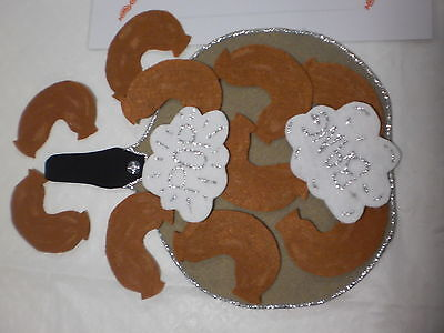 Felt Board Flannel Story  Teacher Resource - 10 Fat Sausages Sizzling In A Pan