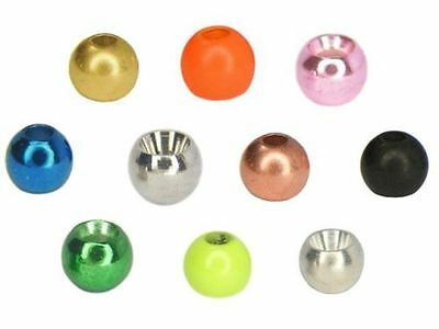 Brass Beads / 3,8mm *3-* /various colors / 25pcs. per pack /materiale montaggio