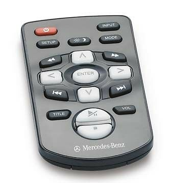 Oem Genuine Mercedes Benz Rear Seat Entertainment Remote For Accessory Install