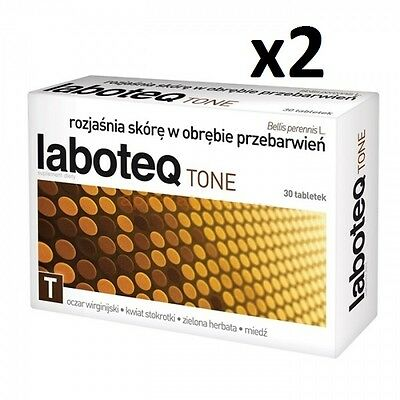 LABOTEQ TONE 60 (2 x 30) tabl. skin discoloration, skin lightening