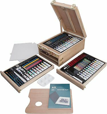 Portable Art Chest an All-in-one Organizer Set - 94 Pieces UK