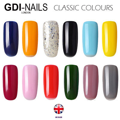 GDI Nails UV/LED soak off varnish gel nail polish, FREE POSTAGE, UK SELLER