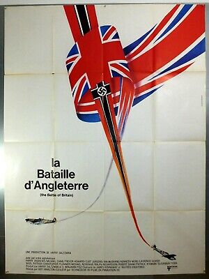 The Battle Of Britain - Michael Caine - Original French Grande Movie Poster