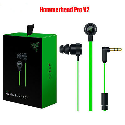 Razer Hammerhead Pro In-Ear PC Music Game Headset headphone earphone with Mic