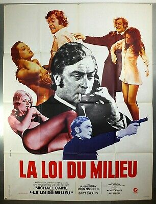 Get Carter - Michael Caine / Ian Hendry - Original French Grande Movie Poster