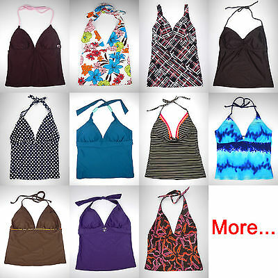 Tankini Top Swimsuit Tank Beach Bathing Suit Bikini women swimmer swimwear S M L