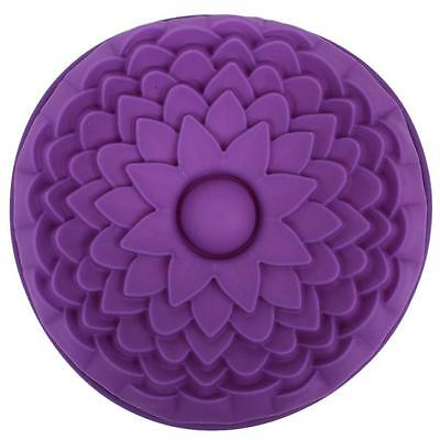 New Sunflower Cake Pan Bread Mold Pastry Silicone Bakeware Tray Baking Mould ONE