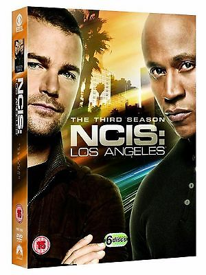 NCIS LOS ANGELES Complete Season 3 DVD Third 3rd Series Three N.C.I.S. LA angels
