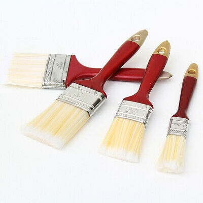 Bulk Lot x 48 Nylon Bristle Economy Paint Brush Painting Tool  Assort size