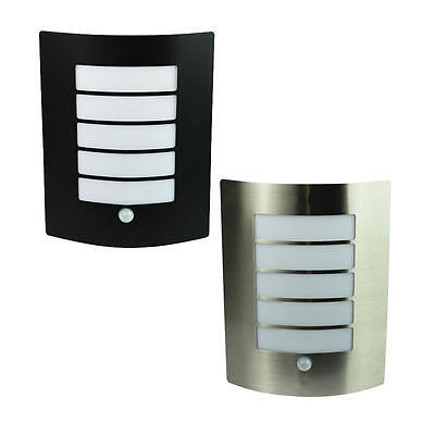 CHEETA  Outdoor Wall Light With Sensor Black Or Stainless Steel OL7293