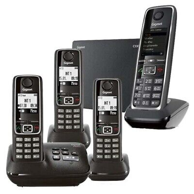 Gigaset C530IP + A220ATRIO Cordless Phones with AUST GIGASET WARRANTY
