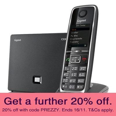 Gigaset C530AIP VoIP Cordless Phone with AUST GIGASET WARRANTY