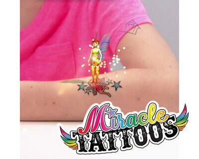 NEW 24 Magic Miracle Tattoos - Brougt to Life 3D Phone App FANTASY Kids Tatts