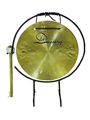 Dimavery Musical Gong, 25cm with Stand & Mallet
