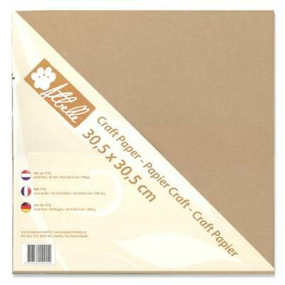 "Atbelle Craft Paper 12""x12"" - 20 Sheets 300gsm"