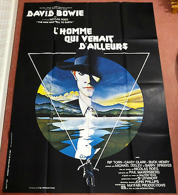 The Man Who Fell To Earth - David Bowie - Original French Grande Movie Poster