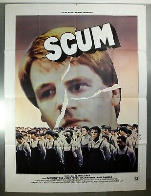 Scum - Ray Winstone / Phil Daniels - Original French Grande Movie Poster