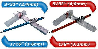 """2 Stilo Tig Welding Tungsten Electrode Grinding Rotating Tools 1/16"""" to 5/32"""""""