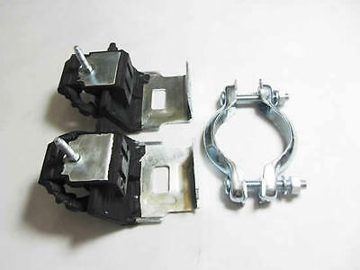 Exhaust Fitting Kit Renault Laguna Rubber Mount Set Clamp 01-07 Hanger Support