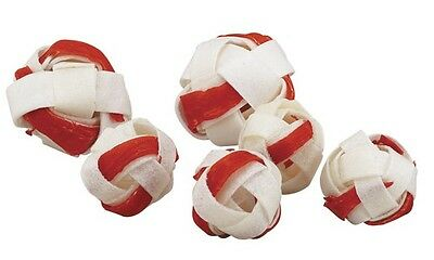 DINGO GOOF BALL BULK LOT PACKS Low Fat High Protein Quality Rawhide Dog Treats