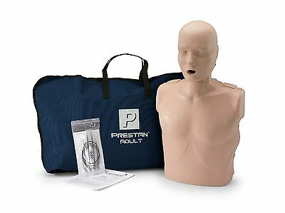 Prestan Adult Training Manikin Med Skin CPR‐AED Training Mannequin PP-AM-100-MS
