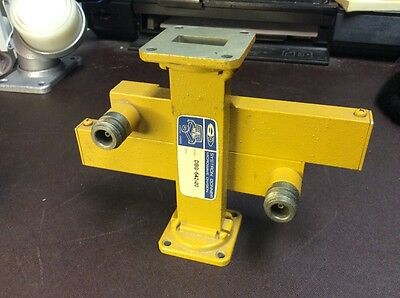 SYSTRON DONNER DBG-642-20 WR90 Crossguide Dual Dir. Coupler New $199