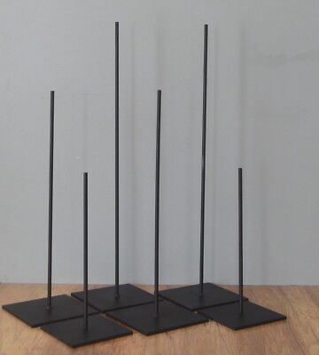 """11"""" High Metal Rod Display Stand For African And Oter Object"""