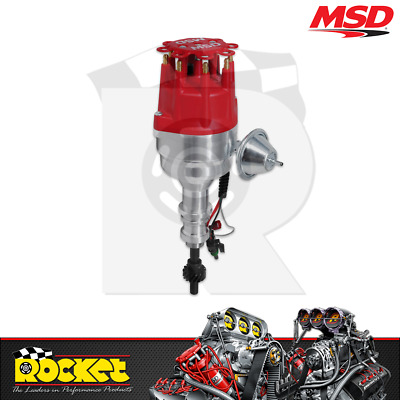 MSD Pro-Billet Ready-to-Run Distributor suit Ford 289-302W V8 - MSD8352