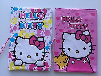 1PC Girls Kids Children Hello Kitty Print Cute Passport Case Cover Protector
