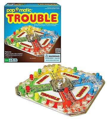 Classic Trouble Board Game - Brand New!
