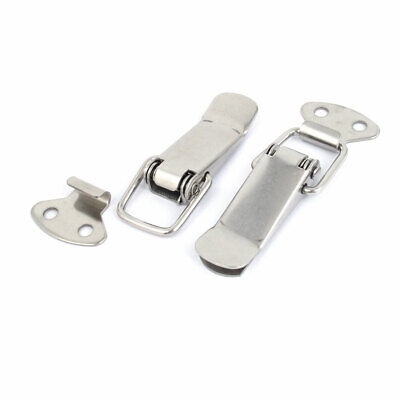 Toolbox Chest Box Spring Loaded Toggle Catch Latch Set 57mm Long 2 Pcs