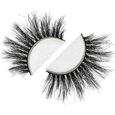 Siberian Real Mink Eyelashes Strip Lashes - VEGAS (For Lilly)