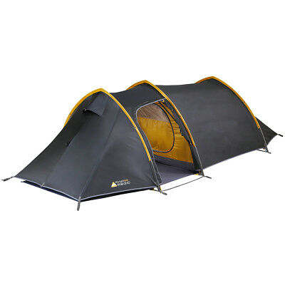 2017 Vango Pulsar 300 - Anthracite - 3 Person Tent (Vte-Pu300-M) Camping Hiking