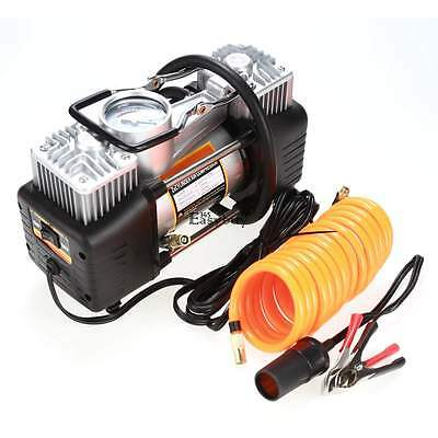 High Volume 150PSI Air Compressor inflator Ideal for Truck SUV 4X4 tires Gauge