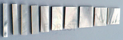 Mother of pearl guitar fretboard inlay set block for Gibson® style