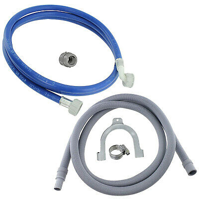Fill Water Pipe & Outlet Drain Hose For Samsung Washing Machine 2.5m Kit