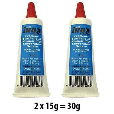 2 PACK INOX MX6 SYNTHETIC EXTREME PRESSURE FOOD GRADE GREASE (MG-44611x2)