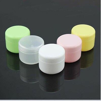 50/100ml Empty Jar Containers Cosmetic Cream Lotion Bottle Makeup With inner lid
