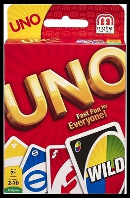 Classic Uno Card Game NEW USA Seller FREE SHIPPING Mattel Games
